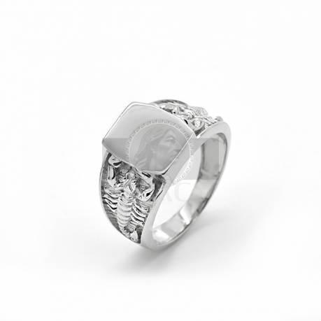 Ezüst gravírozható gyűrű