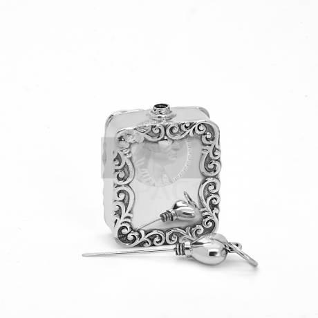 Ezüst parfümtartó